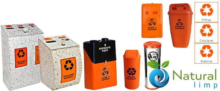 Natural Limp - Coletores para Pilhas e Baterias - Natural Limp