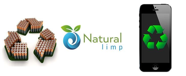 Natural Limp - Como descartar pilhas, baterias e celulares