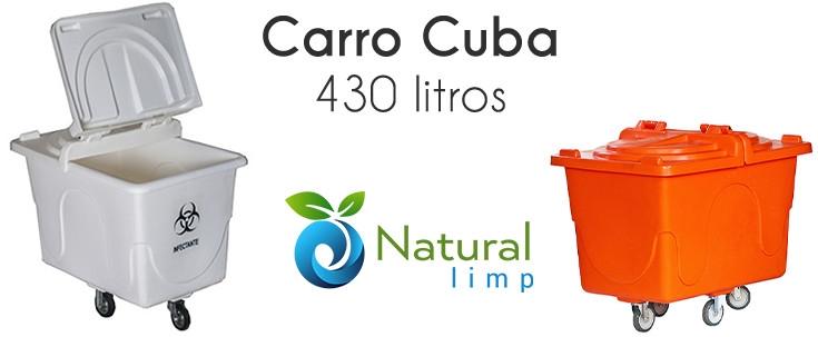 Natural Limp - Conheça o Carro Cuba - Contêiner Multiuso da Natural Limp
