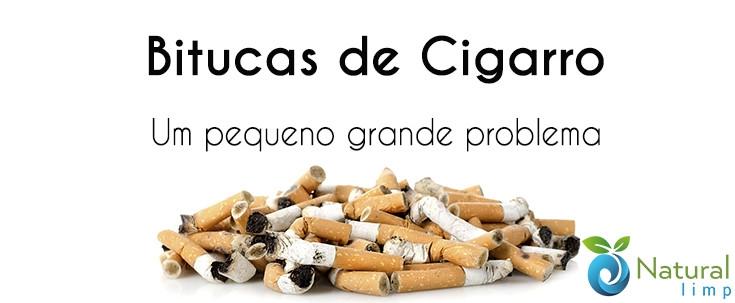 Natural Limp - Descarte de bitucas de cigarro - Problema ou oportunidade?