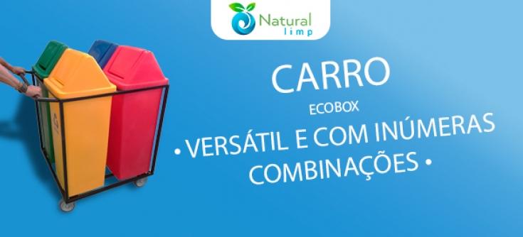 Natural Limp - Ecobox coleta seletiva com inúmeras combinações