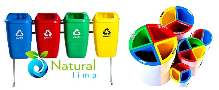 Natural Limp - Quais são as cores da coleta seletiva?