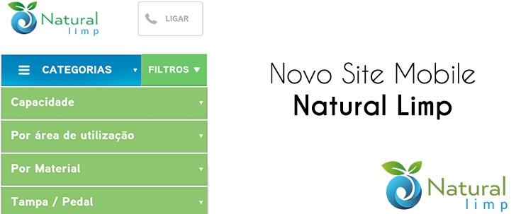 Natural Limp - Site Mobile Natural Limp - Transformando nossa relação com você!