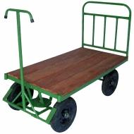 Natural Limp - Carrinho plataforma 5a Roda com assoalho de madeira