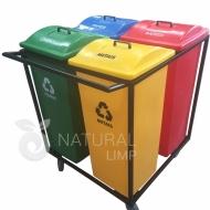Natural Limp - Carro ecobox tampa sobreposta