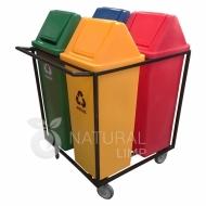 Natural Limp - Carro ecobox tampa vai e vem