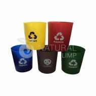 Natural Limp - Cesto para lixo sem tampa 30 Litros