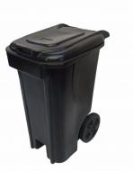 Natural Limp - Coletor com Rodas - 240 Litros BLACK
