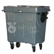 Natural Limp - Coletor de 700 Litros em Polietileno com Rodas