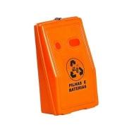 Natural Limp - Coletor de pilhas e baterias - Fixação em parede - 30 litros