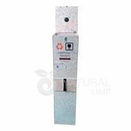 Natural Limp - Coletor ecológico para lâmpadas fluorescentes - 30 lâmpadas