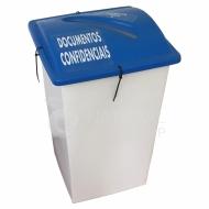 Natural Limp - Coletor para Documentos Confidenciais 100 litros