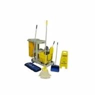 Natural Limp - Kit para limpeza úmida ou seca - Conjunto mop líquido