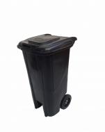 Natural Limp - Lixeira com Rodas - 120 Litros BLACK