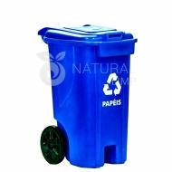 Natural Limp - Lixeira com Rodas - 240 Litros