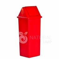 Natural Limp - Lixeira com tampa basculante para coleta seletiva - 100 litros
