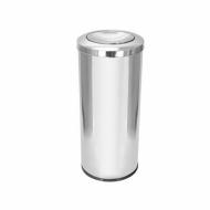 Natural Limp - Lixeira em aço inox Premium com tampa flip top - 50 litros